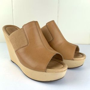 SALE | Dr. Scholl's Avenge Tan Platform Wedge- 8